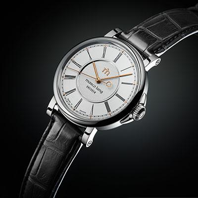 Zweigesicht-1 Marco Lang Dresden Uhr Front 1